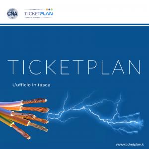 scarica la brochure ticketplan per elettricisti
